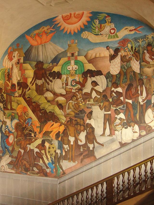 Diego Rivera, murales del Palacio Nacional (5/6)