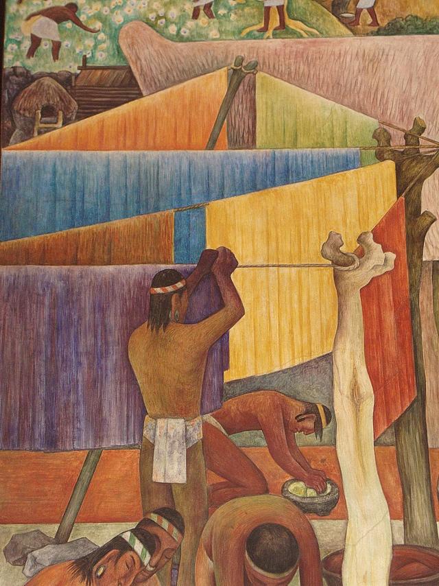 Diego Rivera, murales del Palacio Nacional (2/6)