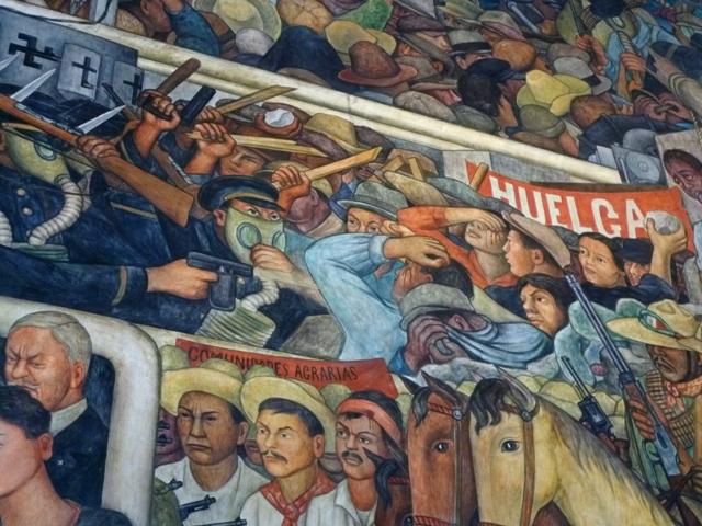 Diego Rivera, murales del Palacio Nacional (6/6)