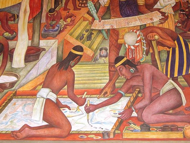Diego Rivera, murales del Palacio Nacional (1/6)
