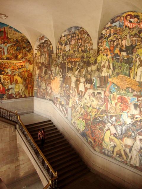 Diego Rivera, murales del Palacio Nacional (4/6)