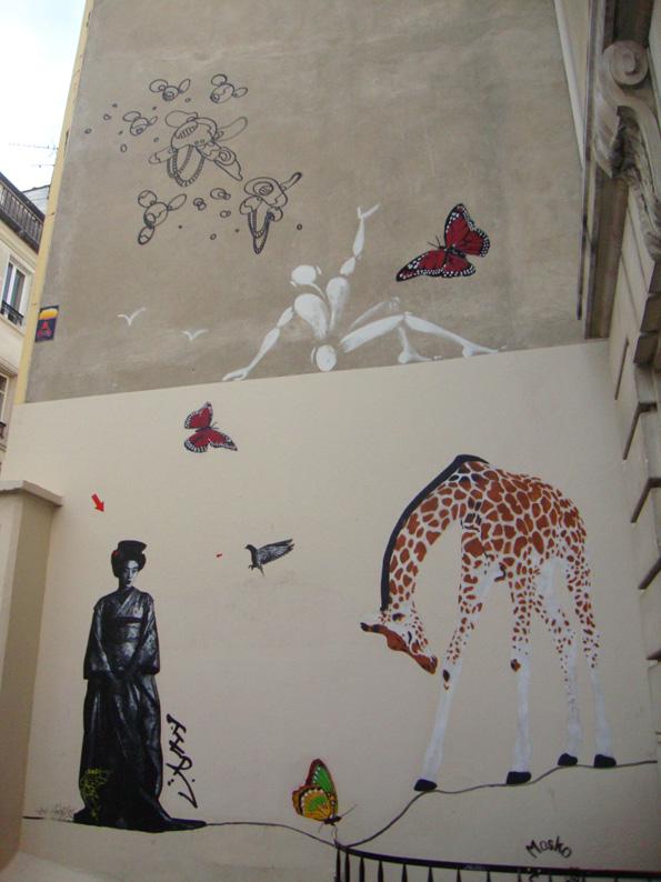 Street art du côté de la Place de Clichy (4/6)