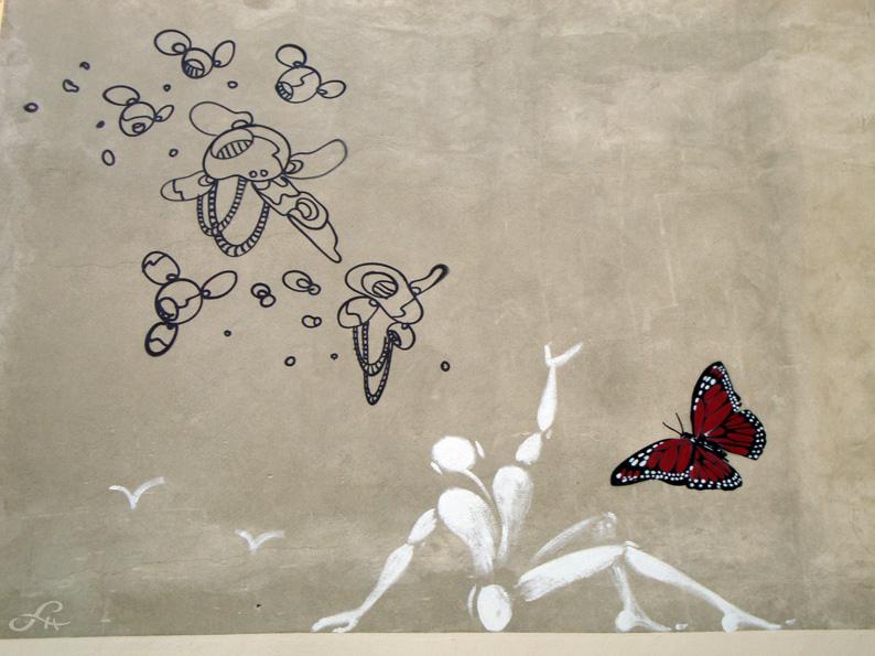 Street art du côté de la Place de Clichy (1/6)