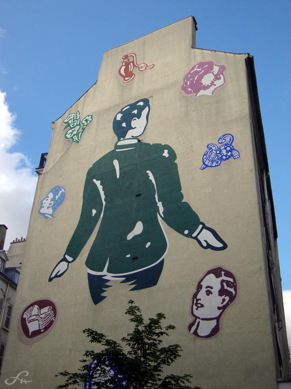 Street art du côté de la Place de Clichy (2/6)