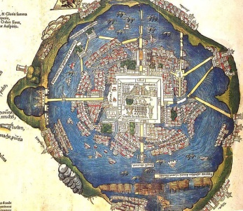 Carte aérienne de Ciudad de México
