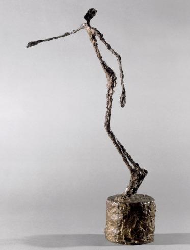 homme chavirant giacometti -1950