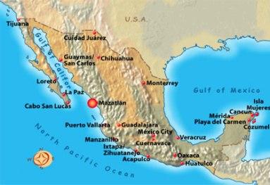 mapa mazatlan