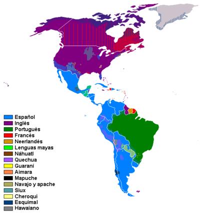 linguas americas