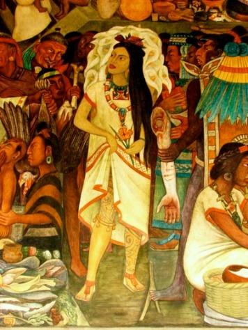 La Malinche par Diego Rivera