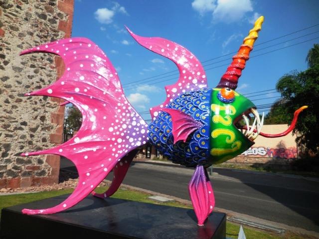 « El Poseidón » sculpture collective, Querétaro mai-juin 2016
