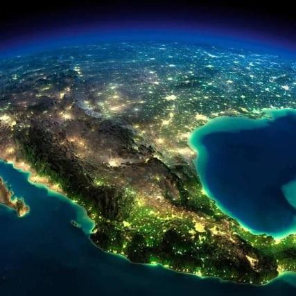 vue-nocturne-mexique-nasa